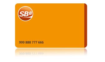 Карта лояльности для компании SB8